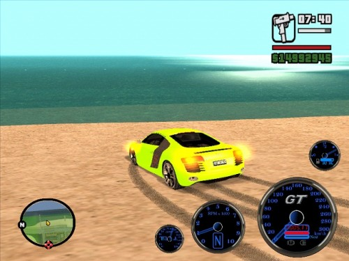 Grand theft auto san andreas super cars (2011/pс/rus) » www.